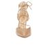 Sam Edelman Women's Taylor Leather Lace Up Court Shoes - Golden Caramel: Image 4