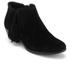 Sam Edelman Women's Paige Suede Tassle Ankle Boots - Black: Image 2