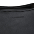 Lulu Guinness Women's Collette Small Leather and Suede Grab Bag  - Black: Image 4