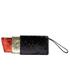 Lulu Guinness Women's Glitter Lipstick Pouch - Black/Red: Image 6