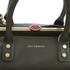 Lulu Guinness Women's Daphne Medium Smooth Leather Tote - Dark Sage: Image 4