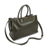Lulu Guinness Women's Daphne Medium Smooth Leather Tote - Dark Sage: Image 3