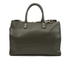 Lulu Guinness Women's Daphne Medium Smooth Leather Tote - Dark Sage: Image 6