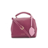Lulu Guinness Women's Rita Small Shoulder Bag with Lip Charm - Cassis: Image 1
