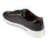 Ted Baker Women's Ophily Leather/Exotic Cupsole Trainers - Black: Image 4