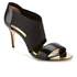 Ted Baker Women's Leniya Leather Elastic Strap Heeled Sandals - Black: Image 2