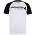 Uncharted 4 Men's Logo Raglan T-Shirt - White/Black: Image 1