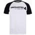 Uncharted 4 Herren Logo Raglan T-Shirt - Weiss/Schwarz: Image 1