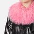 Charlotte Simone Women's Va-Va Varsity Jacket - Black/Pink - S/M: Image 5