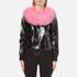 Charlotte Simone Women's Va-Va Varsity Jacket - Black/Pink - S/M: Image 1