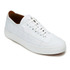 Vivienne Westwood MAN Men's Embossed Squiggle Leather Oxford Trainers - White: Image 2