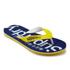 Superdry Men's Flip Flops - Superman Navy/Empire Yellow: Image 2