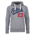 Superdry Men's Core Applique Borg Overhead Hoody - Hoxton Marl: Image 1