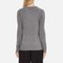 Bella Freud Women's Political Merino Wool Jumper - Grey: Image 3