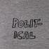 Bella Freud Women's Political Merino Wool Jumper - Grey: Image 5