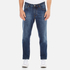 AMI Men's Carrot Fit Jeans - Blue: Image 1