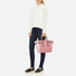 Aspinal of London Women's Marylebone Medium Tote - Rose Dust/Dusky Pink/Chanterelle: Image 2
