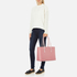 Aspinal of London Women's Regent Tote - Dusky Pink/Rose Dust: Image 5