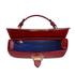 Aspinal of London Women's Letterbox Croc Saddle Bag - Bordeaux: Image 4