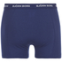 Bjorn Borg Men's Solids Boxer Shorts - Blue Depths: Image 3