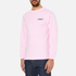 OBEY Clothing Men's Mother Earth Long Sleeve T-Shirt - Pink: Image 2