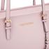 MICHAEL MICHAEL KORS Jet Set Travel Top Zip Tote Bag - Pink: Image 4