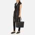 MICHAEL MICHAEL KORS Jet Set Travel Chain Top Zip Tote Bag - Black: Image 7