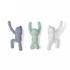 Umbra Buddy Wall Coat Hooks - Multi (Set of 3): Image 1
