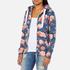 Superdry Women's Orange Label All Over Print Primary Zip Hoody - Baroque Roses Blue: Image 2