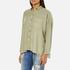 Superdry Women's Tencel Delta Shirt - Salt Wash Khaki: Image 2