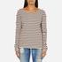 Maison Scotch Women's Long Sleeve Breton T-Shirt - Multi: Image 1