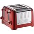 Dualit 46281 Lite 4 Slot Toaster - Metallic Red: Image 1