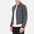 Carven Men's Zipped Blouson Jacket - Gris Grenat: Image 2