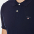 GANT Men's Original Pique Rugger Polo Shirt - Shadow Blue: Image 5