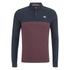 Le Shark Men's Benhill Long Sleeve Polo Shirt - Port: Image 1