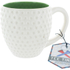 Tee Time Mug - White/Green: Image 2
