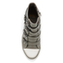 Ash Women's Thelma Leather Wedged Trainers - Perkish: Image 3