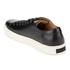 Polo Ralph Lauren Men's Jermain Leather Trainers - Black: Image 4