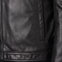 HUGO Men's Lesson Leather Biker Jacket - Black: Image 6