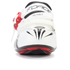 Force Race Carbon Cycling Shoes - White: Image 3