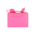 McQ Alexander McQueen Women's Electro Bunny Pouch - Pink: Image 5