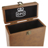 GPO Retro Portable Carry Case for 7-Inch Vinyl Records - Brown: Image 4