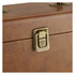 GPO Retro Portable Carry Case for 7-Inch Vinyl Records - Brown: Image 5