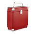 GPO Retro Portable Carry Case for 7-Inch Vinyl Records - Red: Image 1