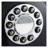 GPO Retro 746 Push Button Wall Telephone - Black: Image 2