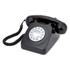 GPO Retro 746 Push Button Telephone - Black: Image 1