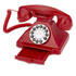 GPO Retro 1929S Classic Carrington Push Button Telephone - Red: Image 2