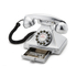 GPO Retro 1929S Classic Carrington Push Button Telephone - Chrome: Image 2