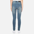 Cheap Monday Women's 'Second Skin' Jeans - Offset Blue: Image 3