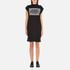 Cheap Monday Women's Capsule Stripe Logo T-Shirt Dress - Black: Image 1